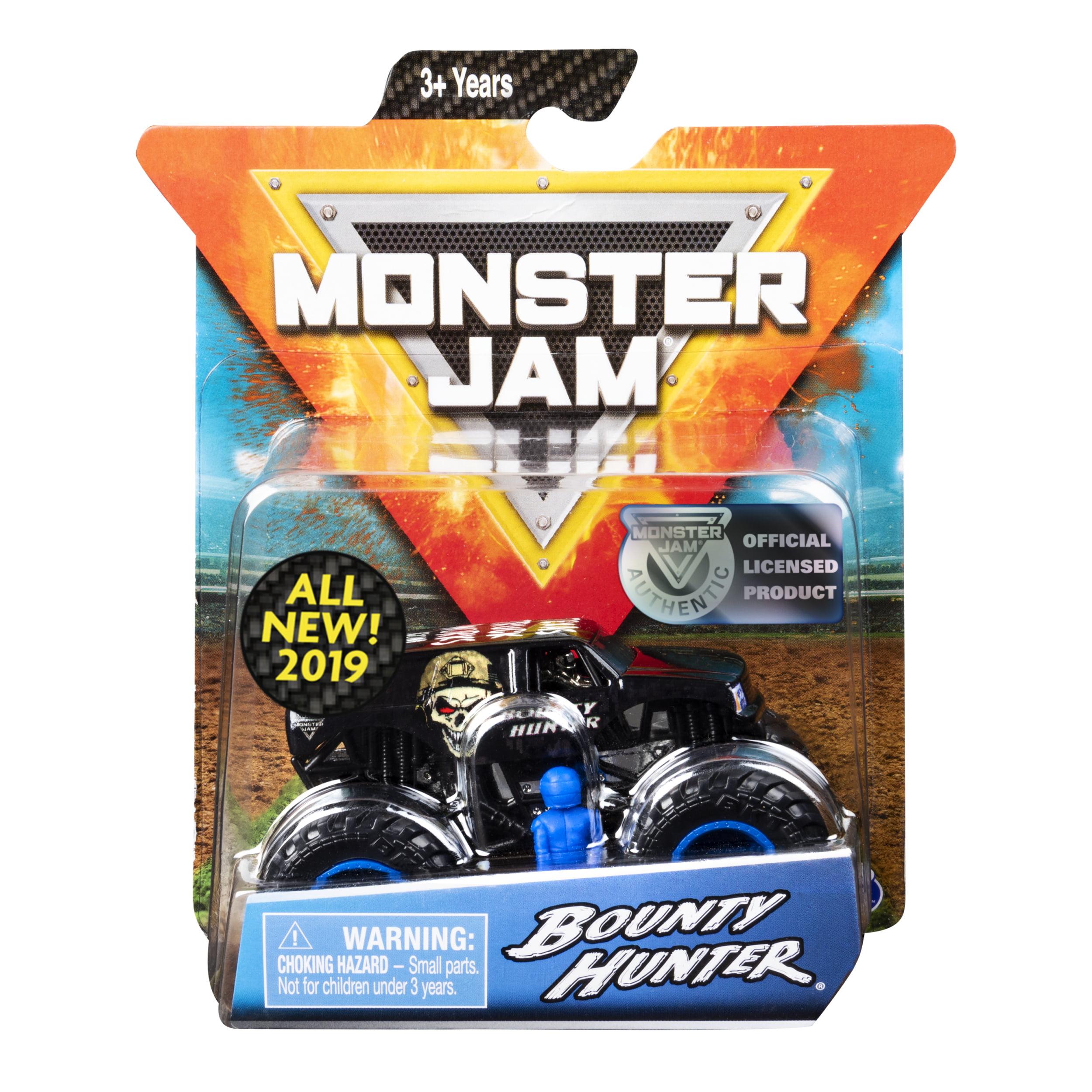 Monster Jam, Official Bounty Hunter Monster Truck, Die-Cast Vehicle, Arena Favorites Series, 1:64 Scale