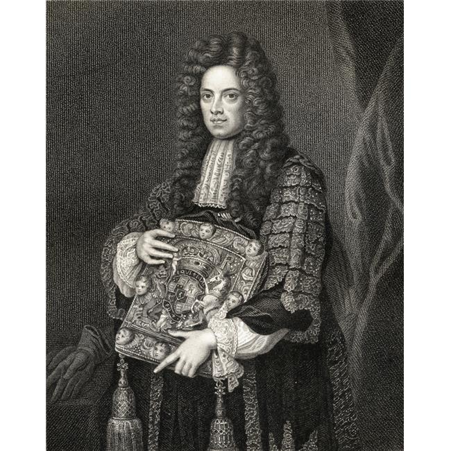 Posterazzi DPI1858755 John Somers, Baron Somers of Evesham, 1651-1716 English Statesman.Chief Minister To EnglandS William III From 1696-1700 From The Book -LodgeS British Portraits Published  - image 1 of 1