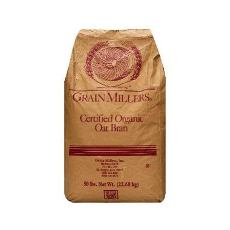 Grain Millers Oats (Grain Millers Grain Millers  Oat Bran, 50 lb )