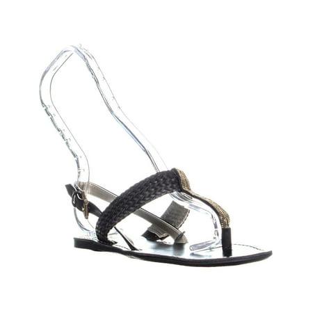 Sandales Pour Femmes Tommy Hilfiger Lorida, Noire - image 1 de 6