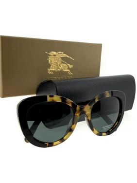 1eb051e30ab4 Product Image Burberry BE4253F-364987-54 Butterfly Women s Havana Frame  Grey Lens Sunglasses