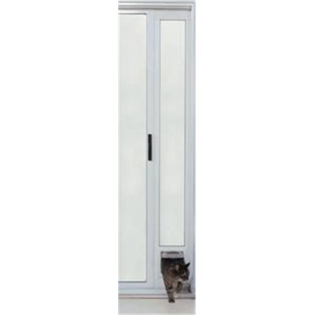 Ideal Pet PATCFW Cat Flap Patio Door - White Finish 77 5/...