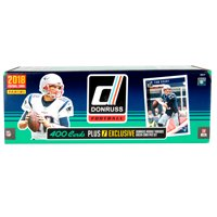 2018 Panini NFL Donruss Trading Card Box Set- Featuring Rookies Lamaer Jackson, Baker Mayfield & Saquon Barkley