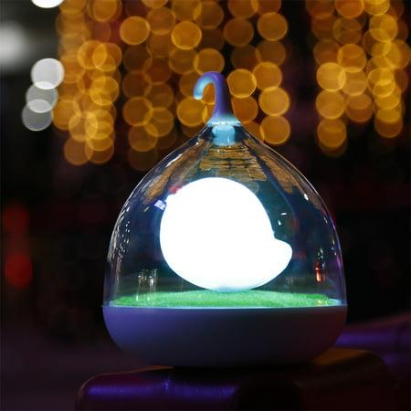 Rechar geable Night Light Cute Birdcage Lamp Energy Saving LED Rechar geable Night Light USB charg (Energy Bird)
