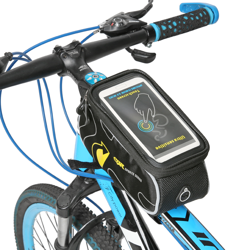 Cycling Mobile Phone Holder Bag Case Touch Screen Cycling Bike Bicycle Bag