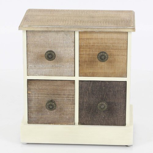 Gracie Oaks Rustic Shade Jewelry Box