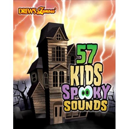 drews famous 57 kids spooky sounds cd
