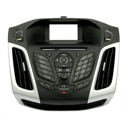 - 2012-2013 Ford Focus OEM Radio Control Panel Bezel - Part Number CM5T-18K811-KC - Refurbished