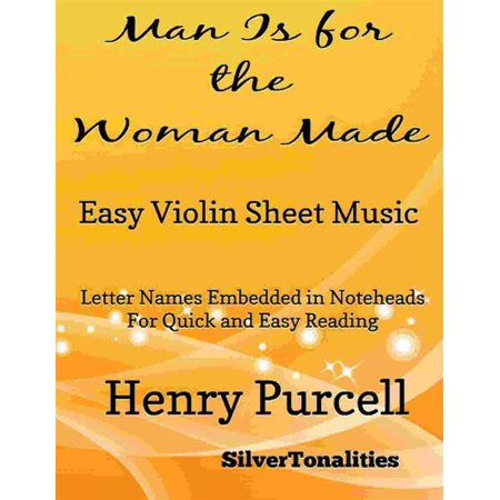 Man Is for the Woman Made Easy Violin Sheet Music -
