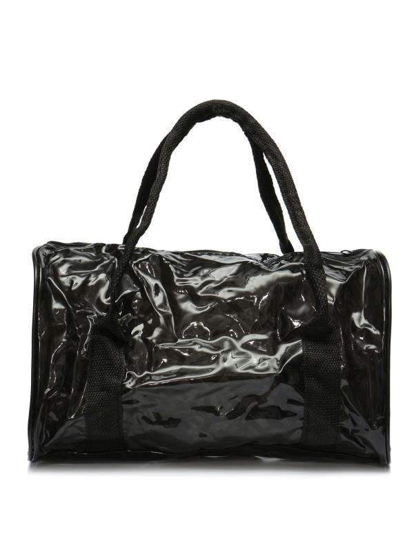 Transparent Handbag Clear Waterproof Jelly Tote Travel Makeup Wash Beach Bag