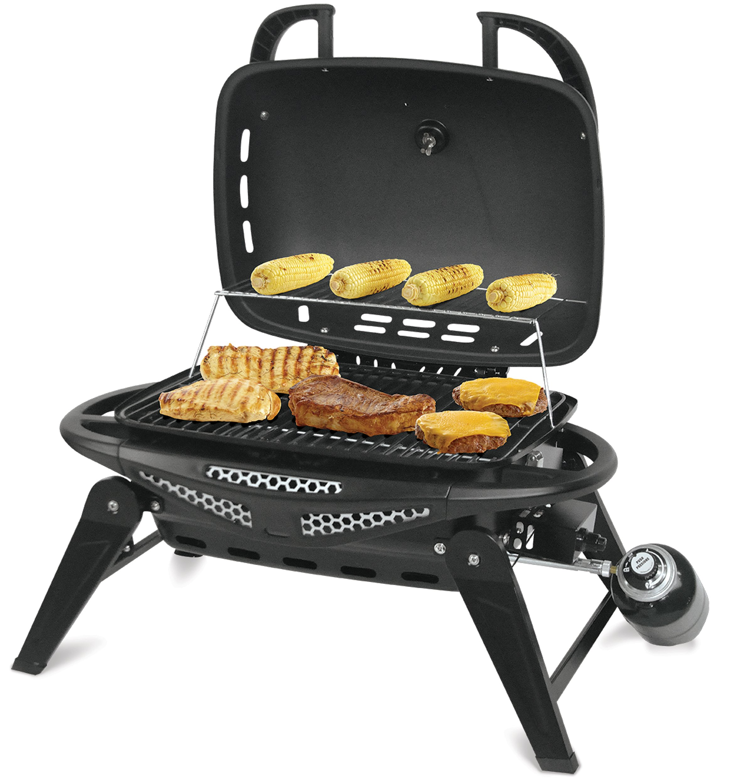 Blue Rhino Outdoor Lp Gas / Charcoal Barbecue Grill - Black (gbt1508b)