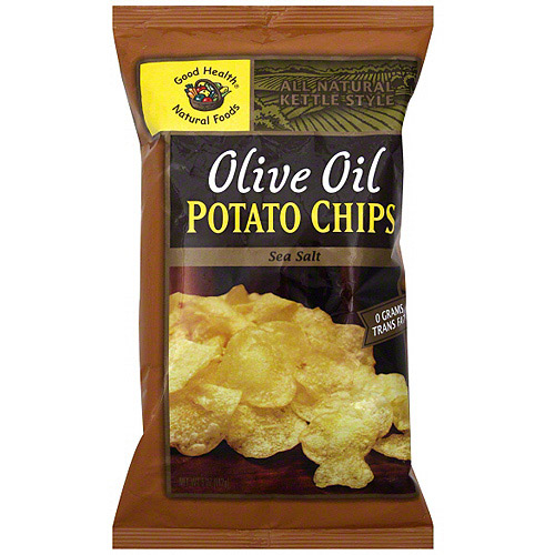 Good Health Natural Foods Sea Salt Potato Chips, 5 oz (Pack of 12) by Generic