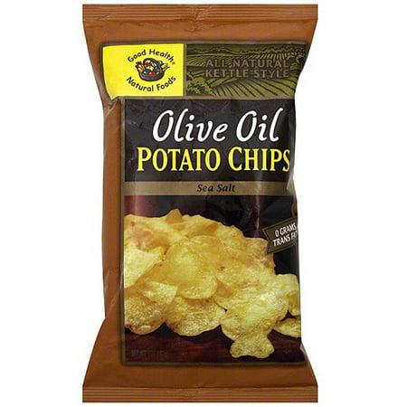 Good Health Natural Foods Sea Salt Potato Chips, 5 oz (Pack of 12) ()