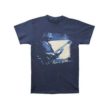 5dabf7f9a33 Allman Brothers - Allman Brothers Men s Duane Quote T-shirt Navy -  Walmart.com
