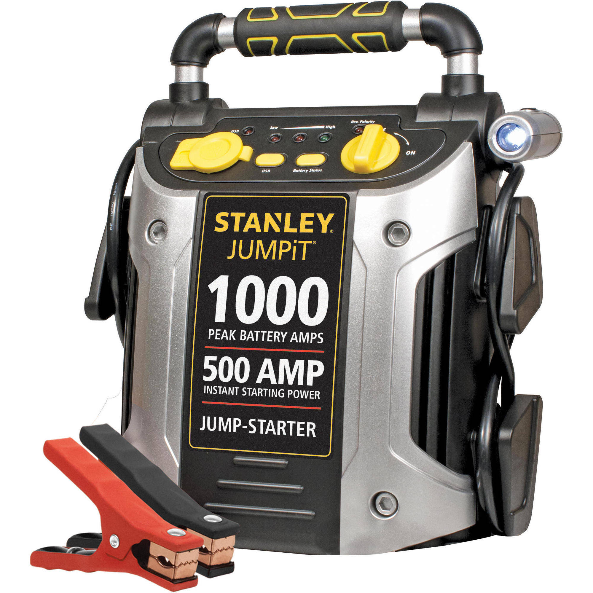 STANLEY 1000/500 Amp 12V Jump Starter with LED Light and USB (J509)