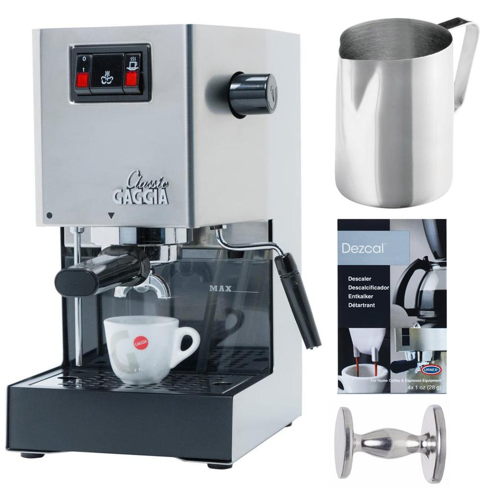 Gaggia Espresso Machine w/ 20-oz. Frothing Pitcher & Coff...