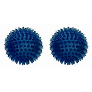 2 Pc FitBALL Spiky Massage & Therapy Balls Set (9 cm.)