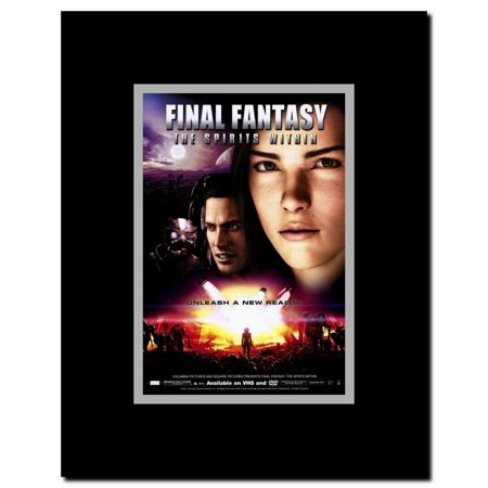Final Fantasy The Spirits Within Framed Movie Poster Walmart