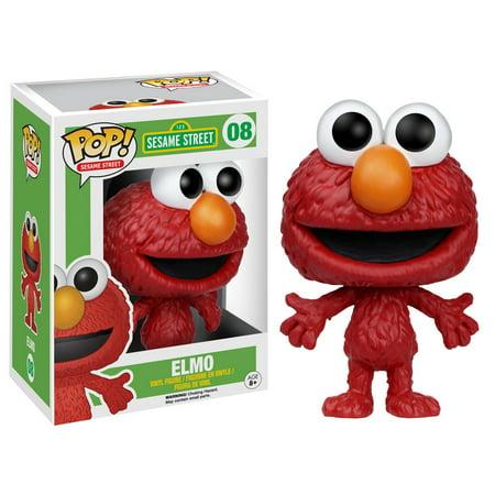 Pop! Tv: Sesame Street-elmo (Elmo Figure)