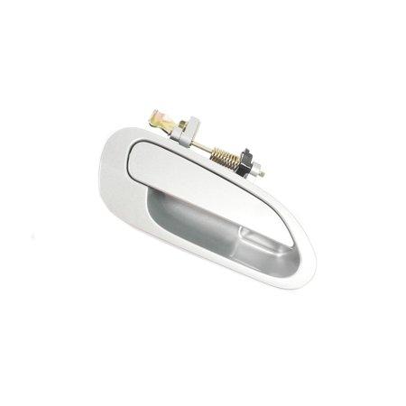 Silver Accords (MotorKing B646 98-02 Honda Accord Rear Right Outside Door Handle Silver)