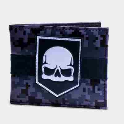 Call of Duty Skull Wallet - MW3 Camo (Jeep Wrangler Call Of Duty Mw3 Special Edition)