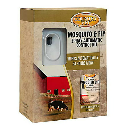 - Country Vet Equine Mosquito and Fly Control Kit