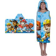 Nickelodeon Paw Patrol Rescue Crew Hooded Bath Towel, 1 Each