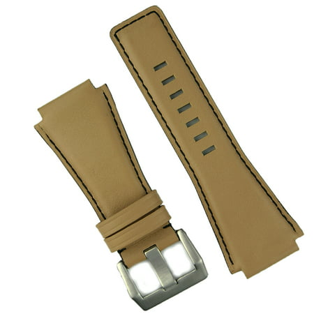 Desert Sand Bell Ross BR01 BR03 Replacement Leather Watch Band