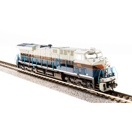Broadway Limited 3545 N Scale GE ES44AC, NS #8101 Central of Georgia DCC  W/Sound
