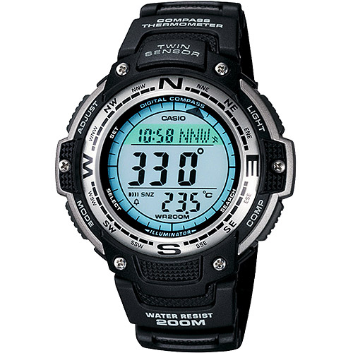 Casio Men's Digital Compass Twin Sensor Sport Watch