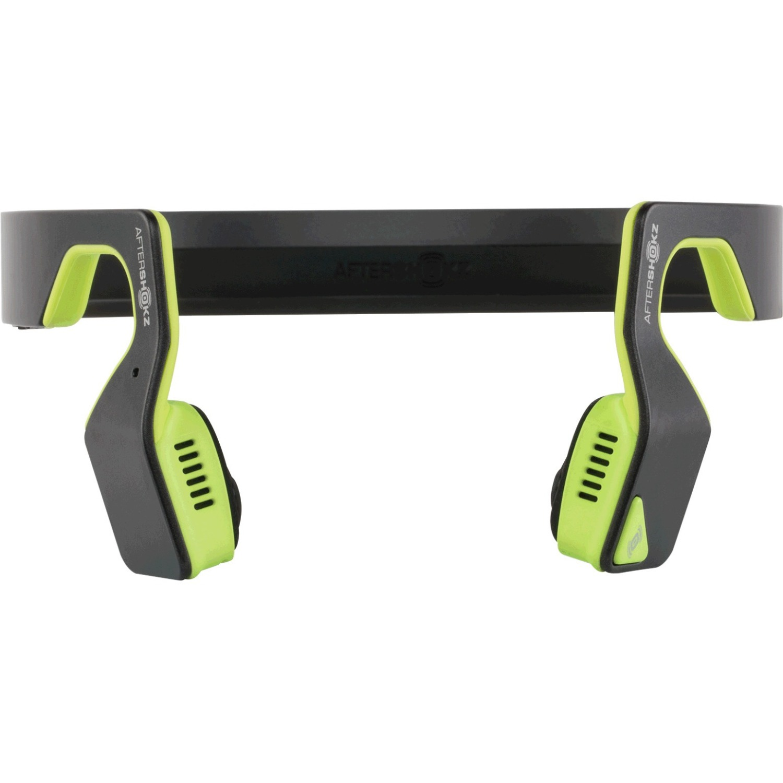 Aftershokz Bluez 2S Wireless Stereo Headphones, Neon Green