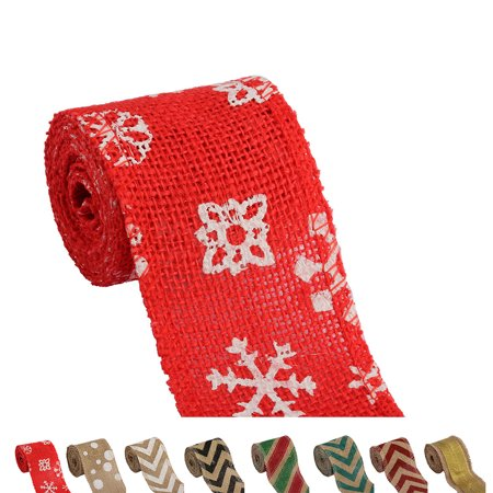 Boyijia 6cm 2m DIY Handmade Colorful Linen Roll Belt Strap Band Handcraft Party Decorative Supplies - image 7 of 9