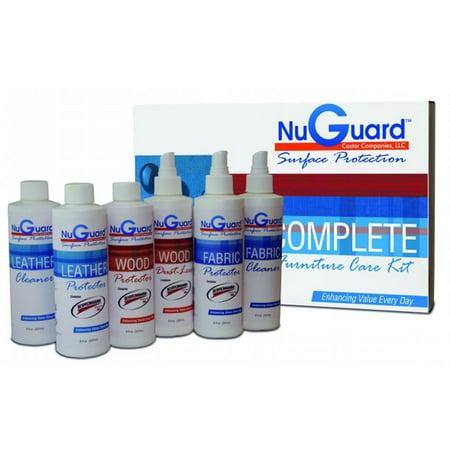 Nuguard Sg Ck000 Nuguard Complete Care Furniture Protection Kit Featuring Scotchgard