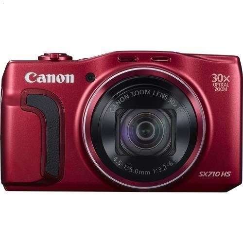 Canon PowerShot SX710 HS 20.3-Megapixel Digital Camera - Red