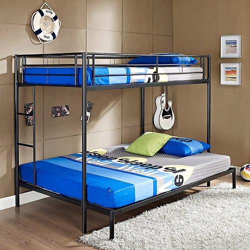Twin Over Full Metal Bunk Bed Multiple Colors Walmart