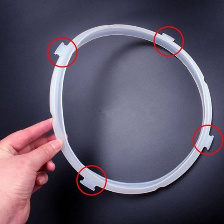 4L/5L/6L Instant Pot Replacement Sillione Sealing Ring for Electric Pressure Cookers - image 3 of 7