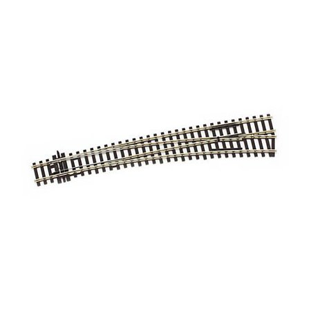 Curved Turnout - SL-86 HO C100 Insulfrog Dbl Curved Right-Hand Turnout, Standard Railtracks Gauge H0 By PECO