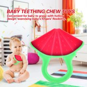 FAGINEY Soft Silicone Baby Teether Fruit Modelling Infant Interesting Teething Chew Toys , Infant Teether,  Baby Teether Toy