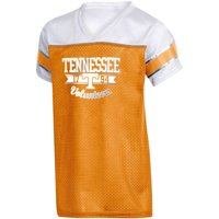 Girls Youth Russell Athletic Tennessee Orange Tennessee Volunteers Team V-Neck T-Shirt