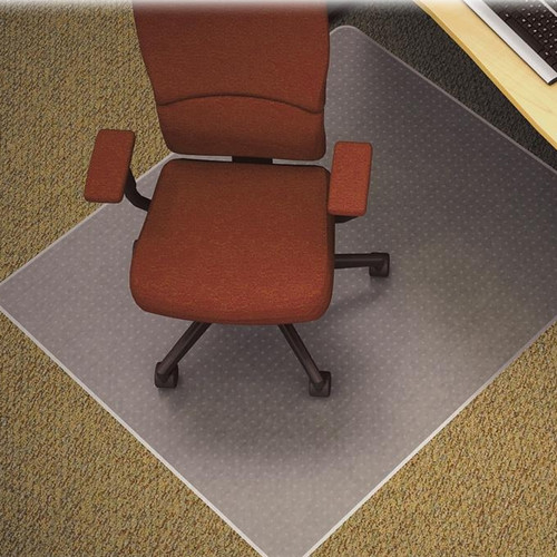 Lorell Medium/Plush Pile Carpet Beveled Edge Chair Mat