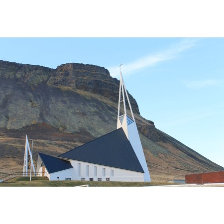canvas print geometric solid church filigree mountain unusual stretched canvas 10 x -