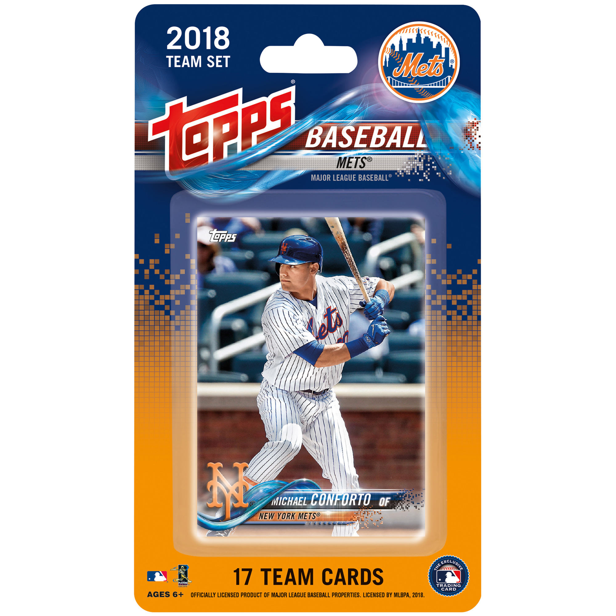 New York Mets 2018 Team Set Trading Cards - No Size