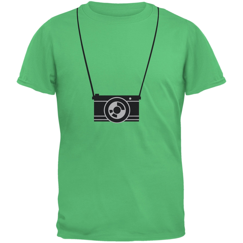 Hanging Camera Green Youth T-Shirt