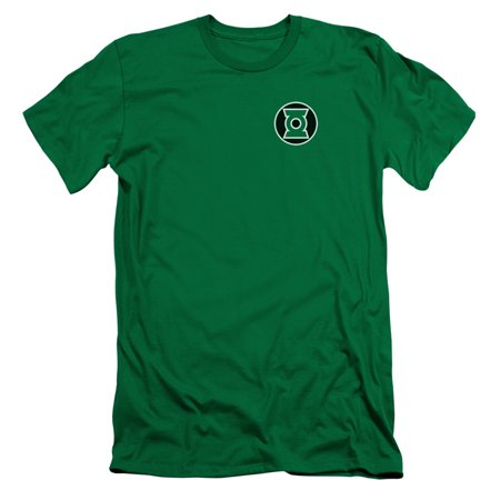 Green Lantern Dc Comics Kyle Rayner Logo Adult Slim T Shirt Tee
