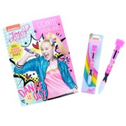 JoJo Siwa Girls Coloring Gift Set Book and Stamper Top Pen