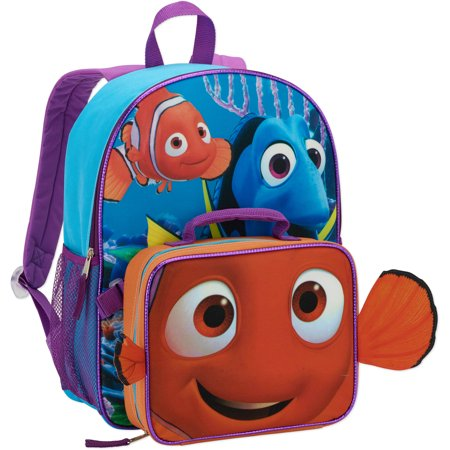 79e7dfdf5a Disney - Finding Dory Backpack w  Lunch - Walmart.com