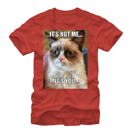 Grumpy Cat Men's It's Not Me - Halloween Meme Grumpy Cat