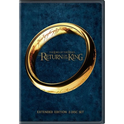 Lord of the Rings Return of the King 2 Disc Extended DVD by