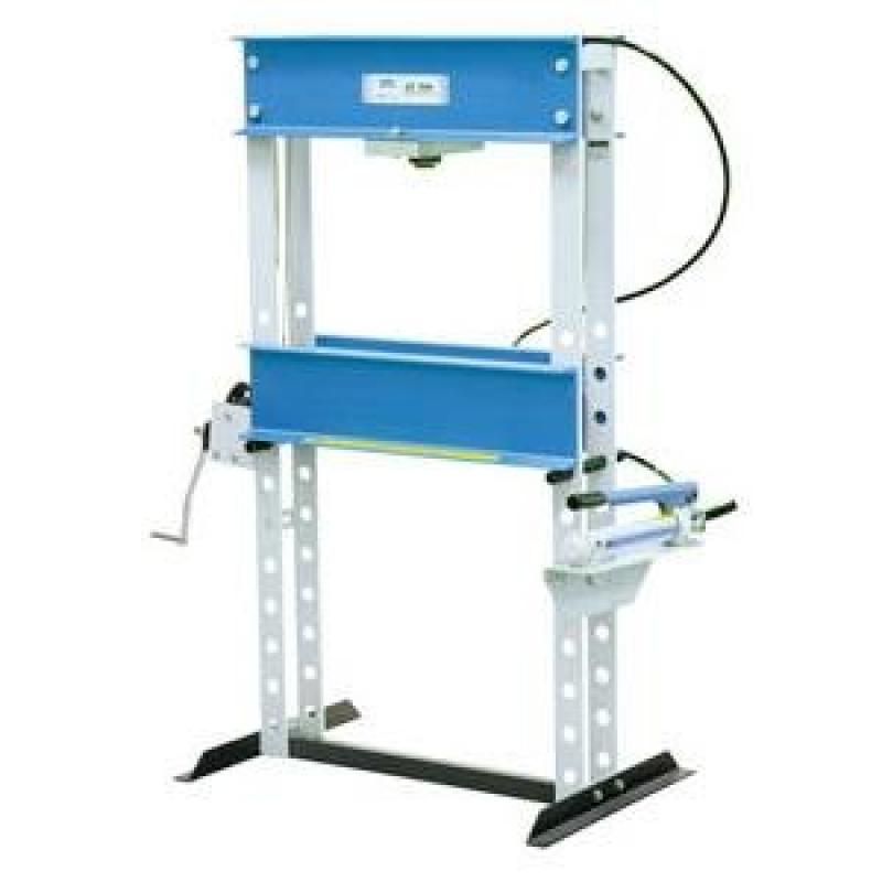 OTC 1833 25-Ton Shop Press with Hand Pump by
