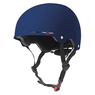 Eps Summer Bicycle Helmet (Triple8 Helmet Gotham Skate/Bike Lg-Xl Blu-Rbr)